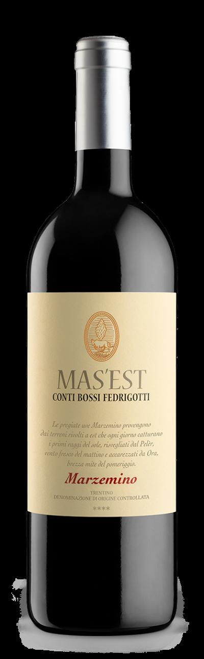 Bossi Fedrigotti Bottiglia Mas'Est Marzemino